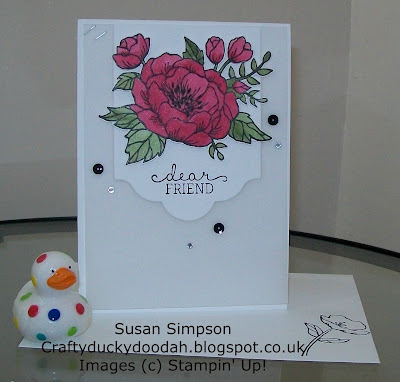 Stampin' Up! UK Independent Demonstrator Susan Simpson, Craftyduckydoodah!, Review of 2016 Part I, Birthday Blooms, Supplies available 24/7,