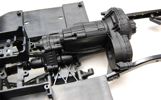 Axial SCX10 II transmission