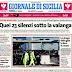 Ufficio stampa della Regione, <br> in Sicilia si riparte... con una selezione