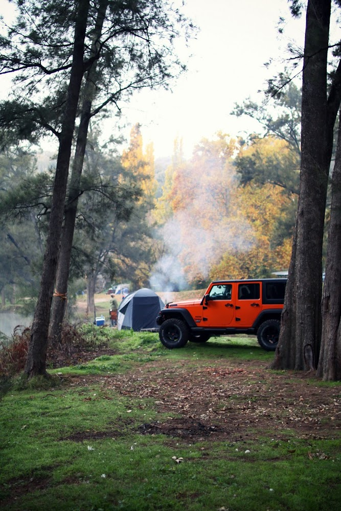 Ophir Reserve Camping Jeep Wrangler