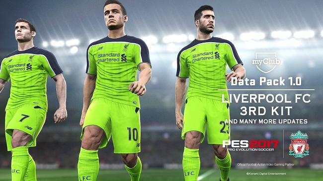 PES 2017 Data Pack 1.0 Liverpool