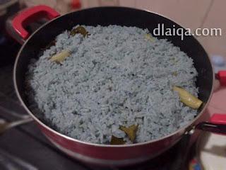 nasi telah matang