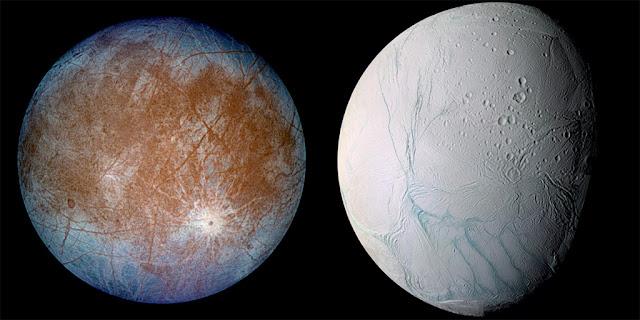 Europa e Encélado