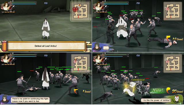 Naruto Shippuden : Ultimate Ninja Impact MOD Texture Pain Human Path [Neji Hyuuga] For PPSSPP Terbaru