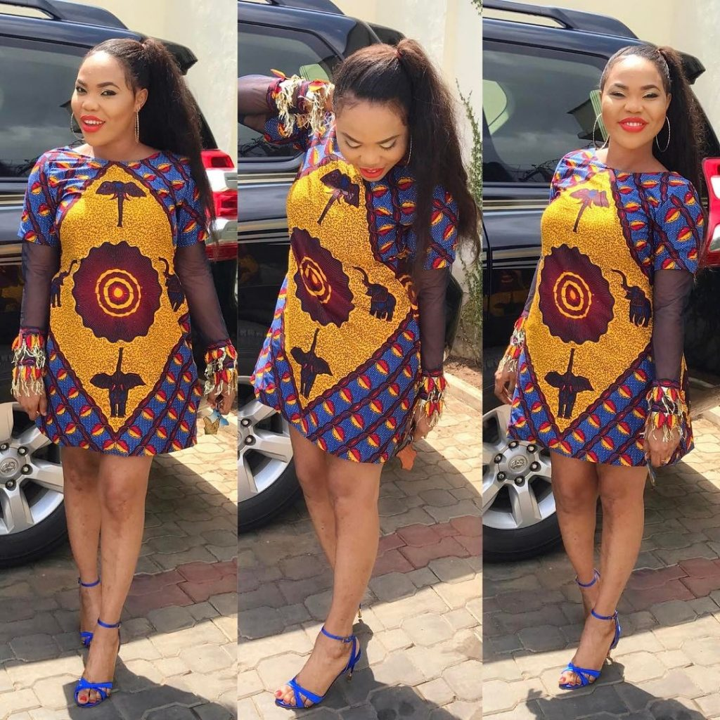 16 Latest Ankara Short Gowns For June 2018