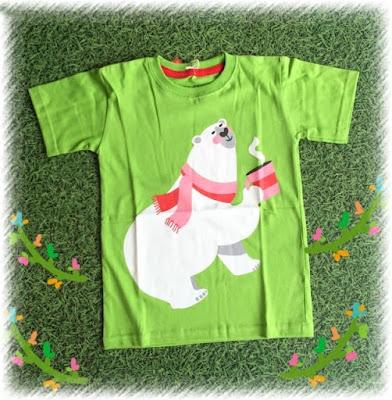 Jual Baju Anak Kaos CUte Bear (Kids) - 12363