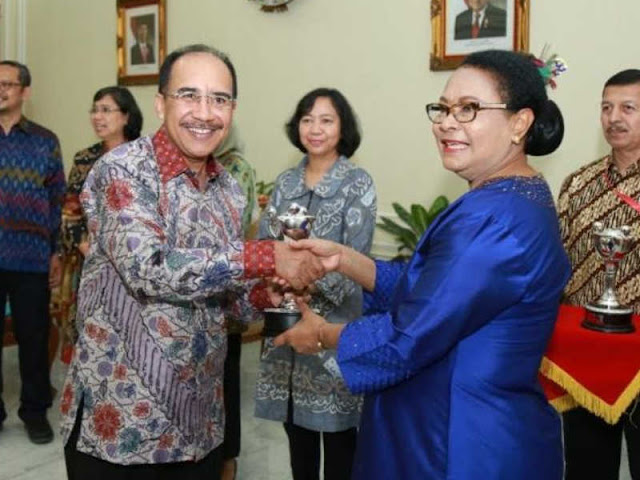 Kota Kupag Raih Penghargaan Anugerah Parahita Ekapraya