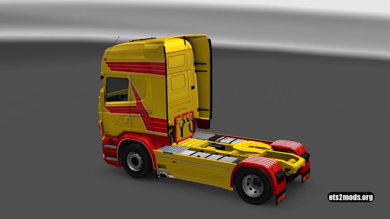 Scania RJL DHL Skin [1.27]