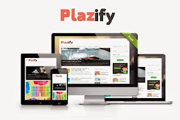 Plazify Responsive Blogger Template Download Free