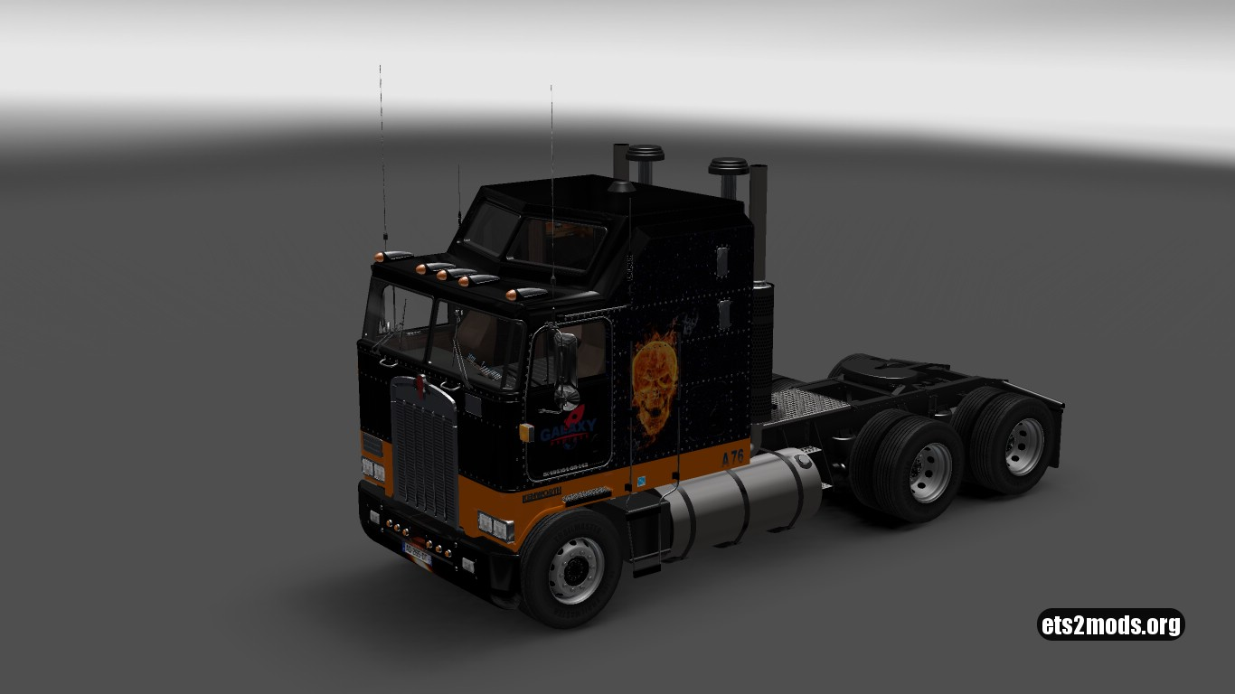 Galaxy Express Skin for Kenworth K100