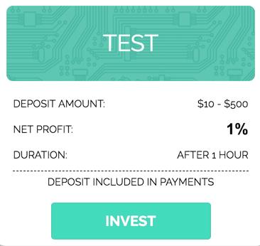 Инвестиционные планы Bitsmaker 1