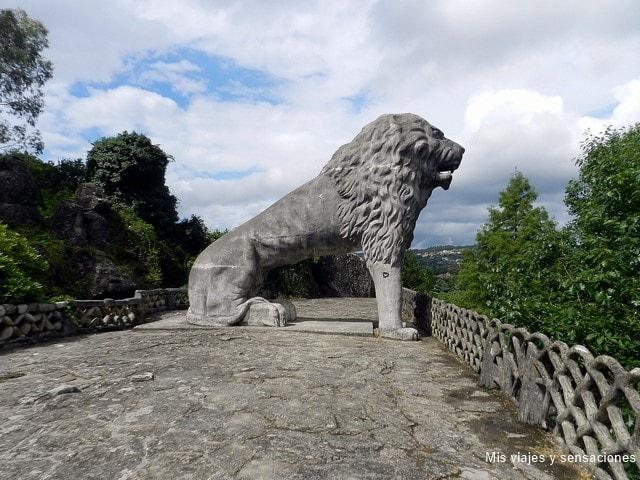León Colosal, Parque del Pasatiempo