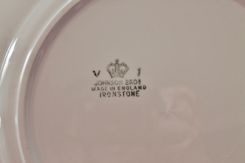 Dating johnson brothers china