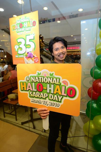 Mang Inasal successfully holds National Halo-Halo Sarap Day