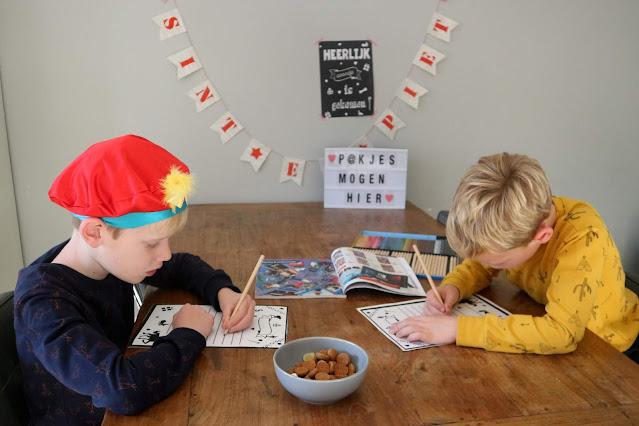 Sinterklaas Lightbox Verlanglijstje