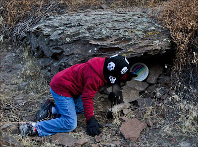 Frechman Coulee geocache.