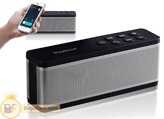 [BEST] Portable Wireless Bluetooth Speaker by Youmoon