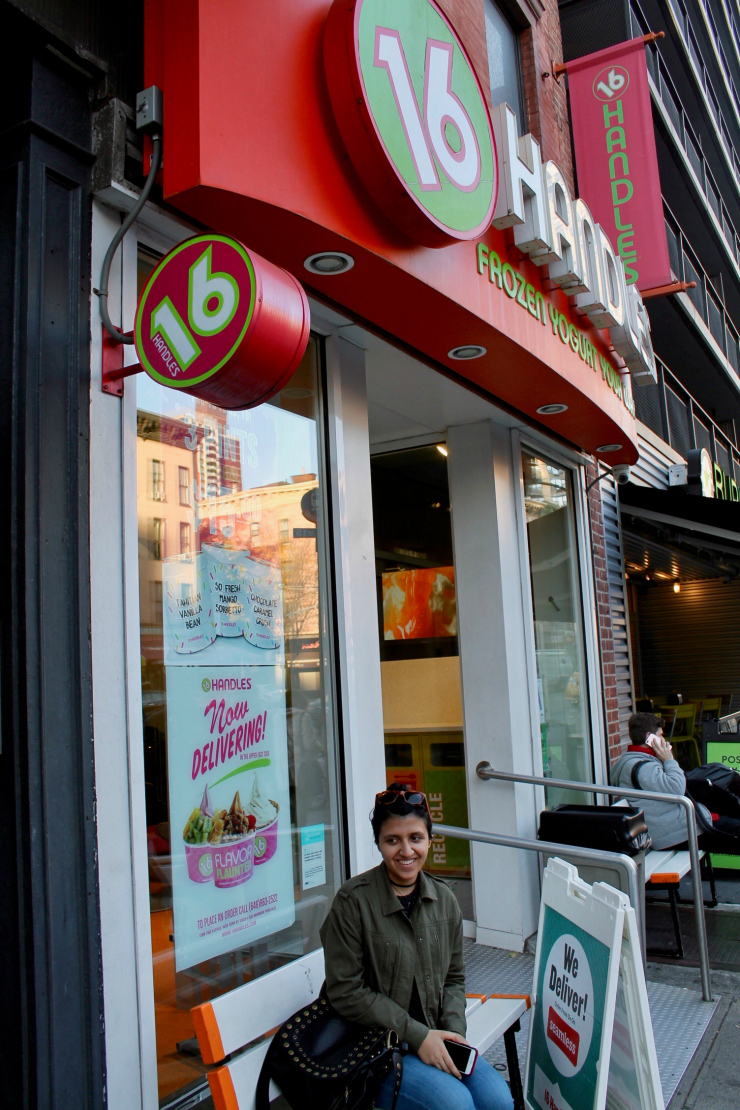 [Day in NYC] 16 Handles Fro Yo