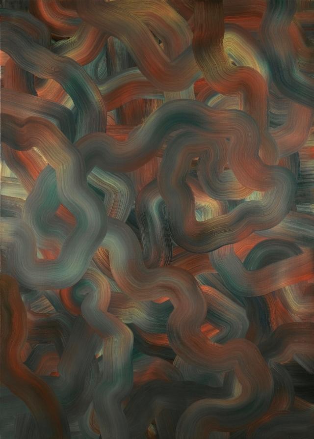 Gerhard Richter Abstraktes Bild Rot Blau Gelb That Bought For