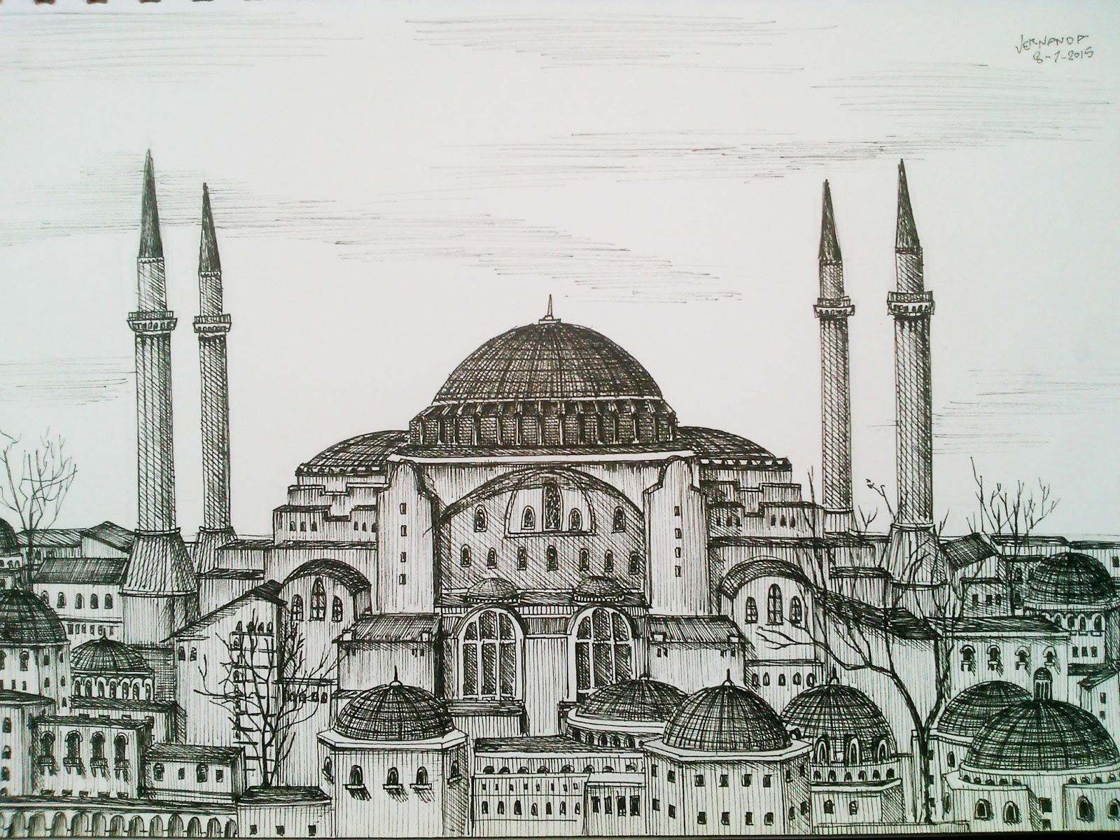 80 Gambar Masjid Arsiran HD