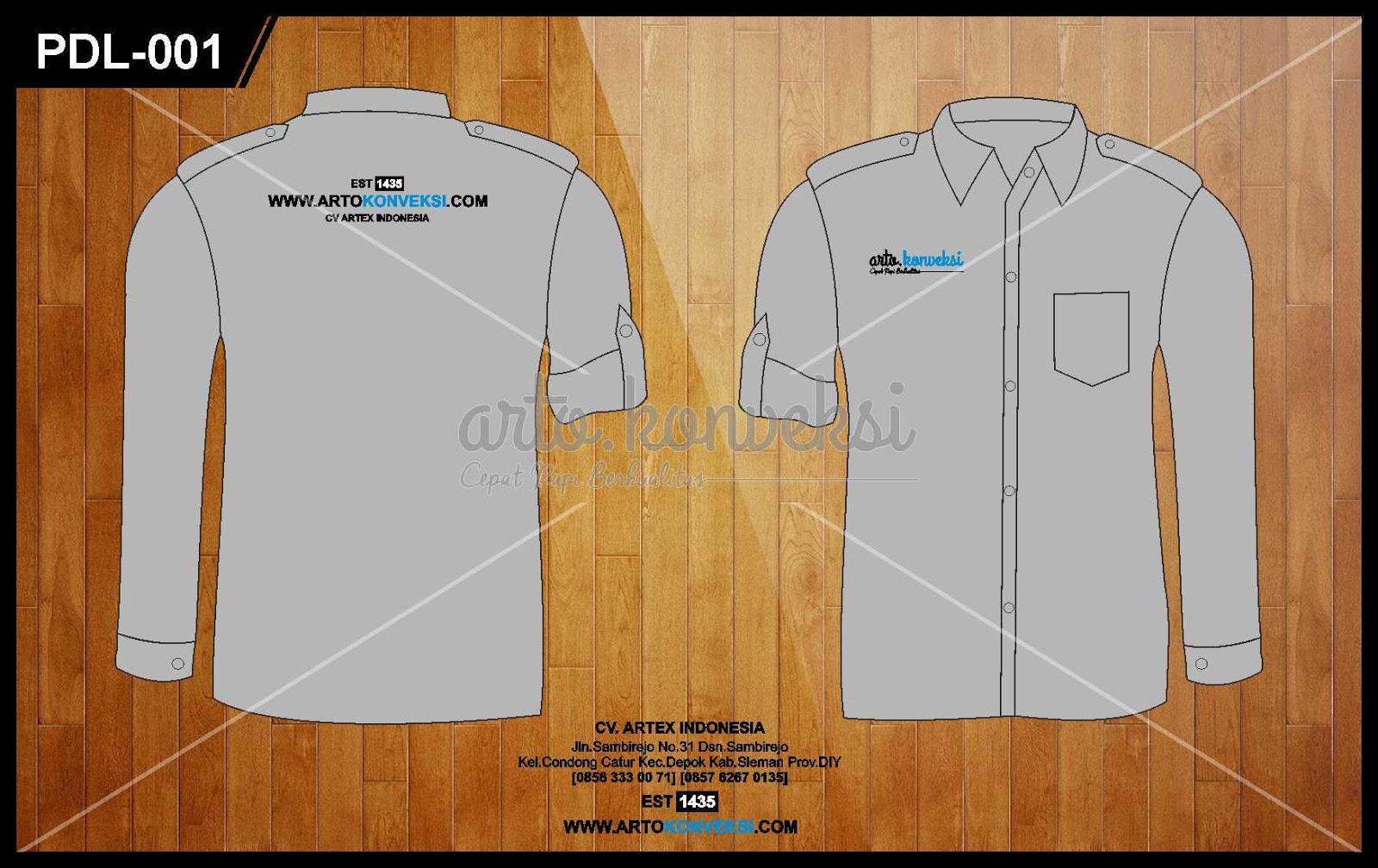 Vector t shirt free vector download 1 356 free vector for. Download Template Vector Kemeja Pdl Korsa Di Arto Konveksi 0856 333 0071 Konveksi Dan Bordir