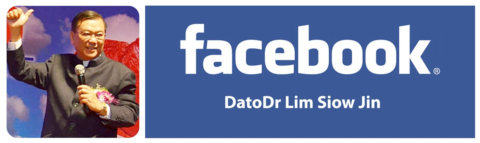 Official Facebook Account of Dato' Dr. Lim Siow Jin