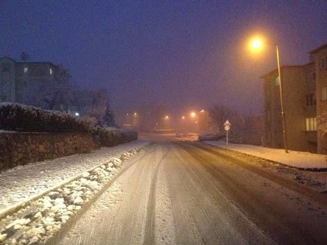 Korucuk  kış fotoğrafı manzarası