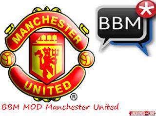 BBM Mod Manchester United v2.13.1.14 Apk Clone