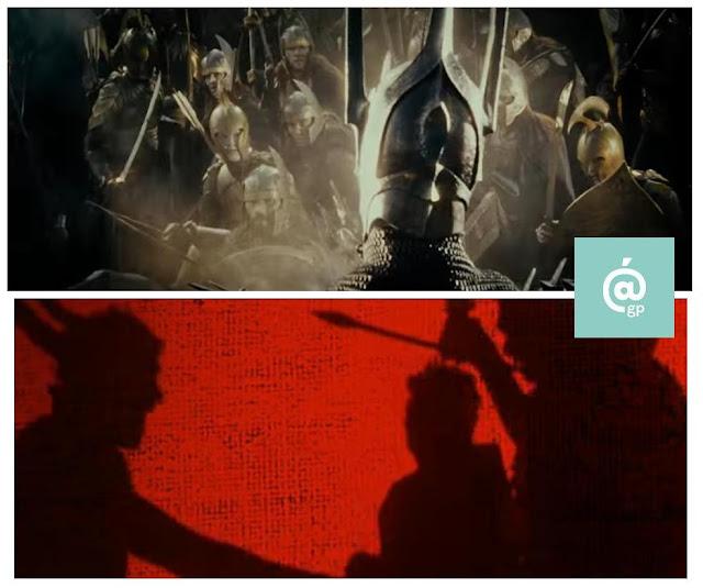 Sauron - El Señor de los Anillos: Peter Jackson Vs Ralph Bakshi - JRRTolkien - ÁlvaroGP - el fancine - el troblogdita