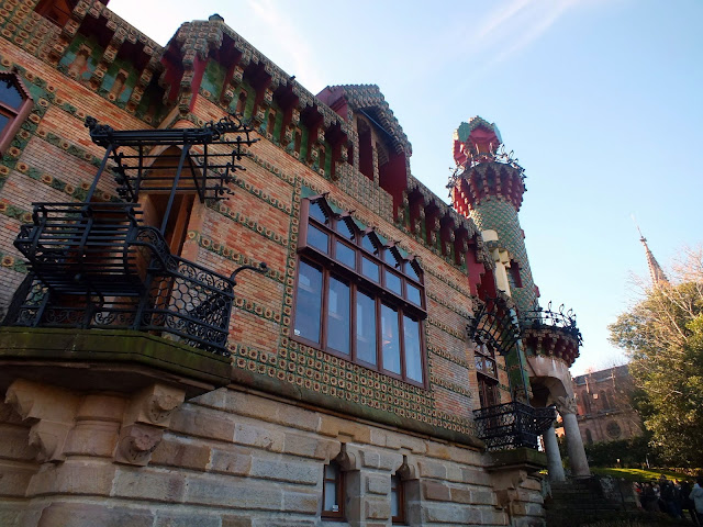 palacio de Gaudí en Comillas