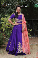 Actress Shraddha Srinath in Purple Chania Choli Cute Pics ~  Exclusive 10.jpg