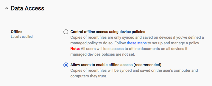 G Suite Updates Blog Improved Admin Controls Over Offline Access To - Public google docs