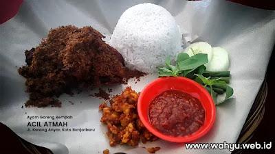Ayam Goreng Rempah Acil Atmah, Jl. Karang Anyar Loktabat Utara Banjarbaru