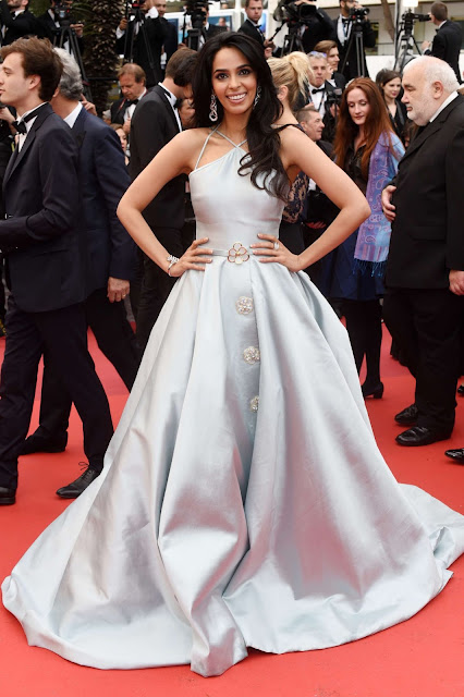 Actress, Model, @ Mallika Sherawat At The Bfg Premiere At 2016 Cannes Film Festival
