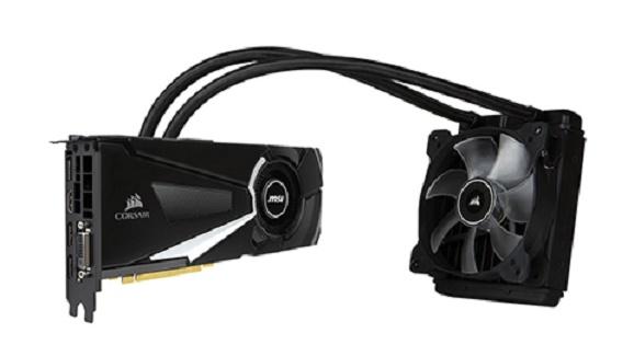 MSI Kembali Perkenalkan Kartu Grafis Hibrida GeForce GTX 1070 Sea Hawk X