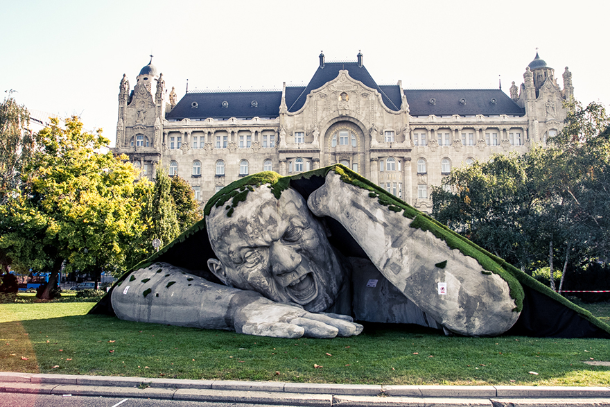 42 Of The Most Beautiful Sculptures In The World - Popped Up By Ervin Loránth Hervé, Budapest, Hungary