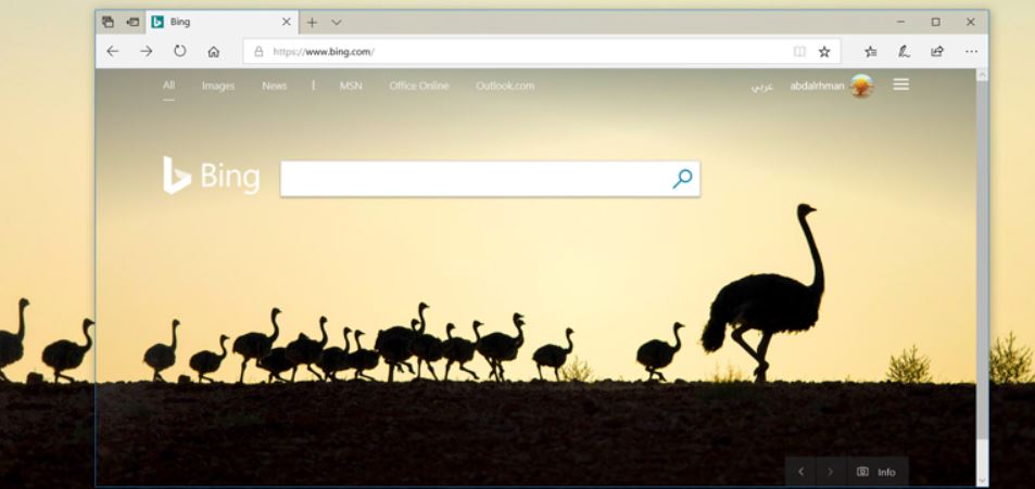 كيفية-تغيير-خلفية-سطح-مكتب-الويندوز-يوميًا-بخلفيات-محرك-بحث-Bing