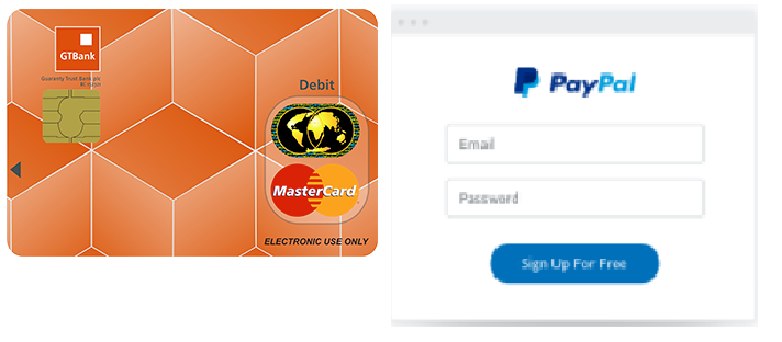 How to use your GTBank Naira Mastercard on PayPal - Nigeria