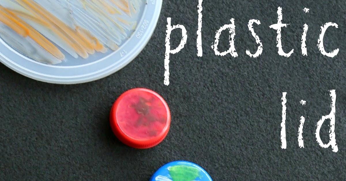 Plastic Lid Planets Still Playing School