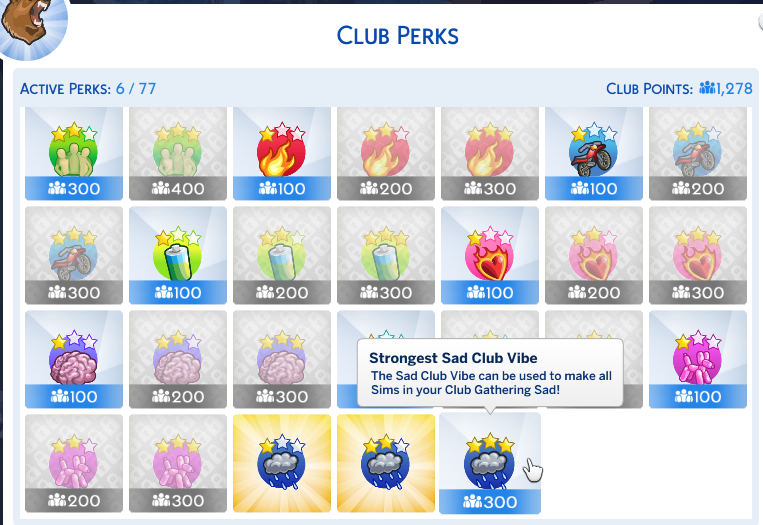 how to get perk points sims 4 cheat
