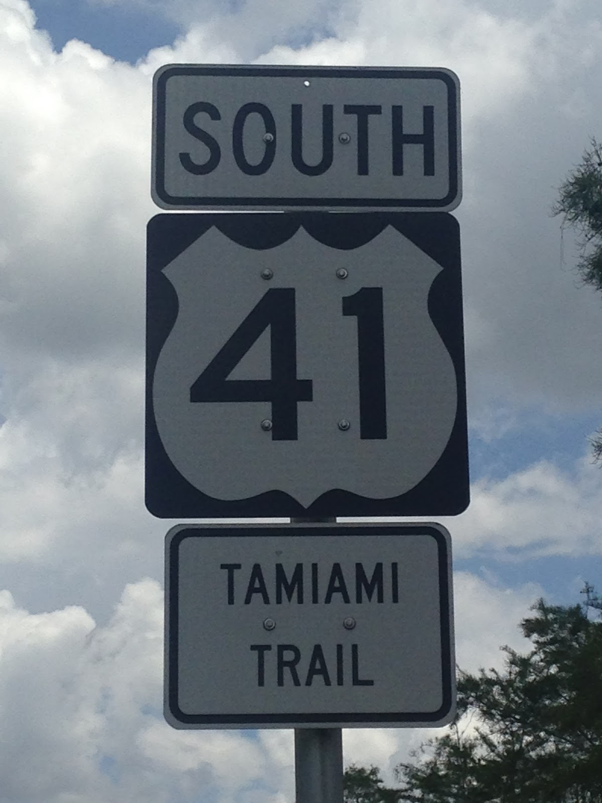 technically the 275 miles of us 41 south of tampa to the city of miami is officially known as the tamiami trail the tamiami trail is a simple combination