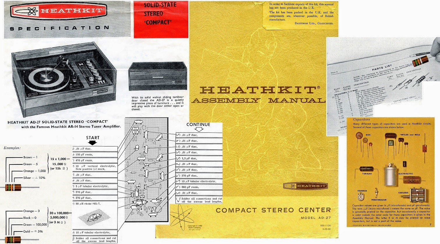 Heathkit AD-27 documentation