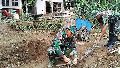 Tentara Juga Lihai Merangkai Besi