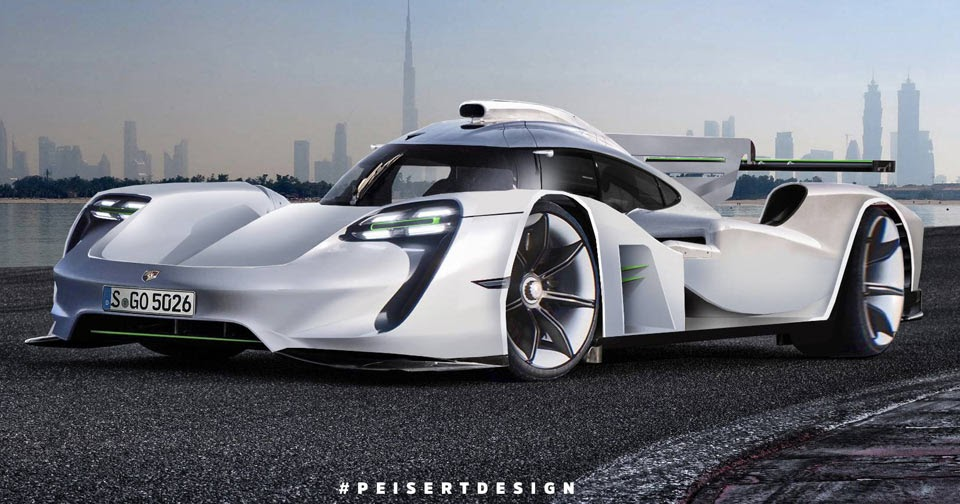 A Porsche 919 Hypercar For The Road? Yes Please