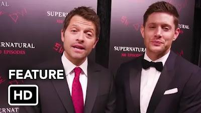 Supernatural Episódio 300 da Décima Quarta Temporada HD - Festa de lançamento