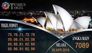 Prediksi Angka Togel Sidney Selasa 30 April 2019