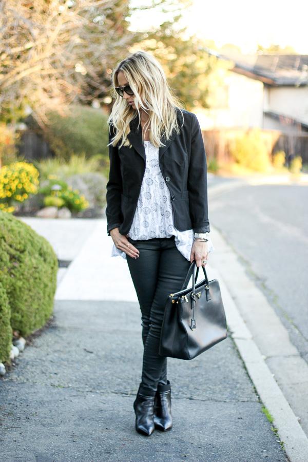 womens black coated skinny jeans