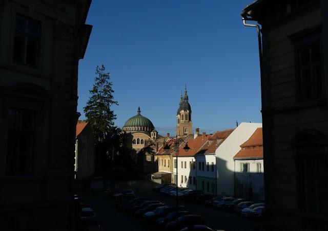 Blick aus dem Hotelzimmer - Blick auf die Orthodoxe Kathedrale, Sibiu