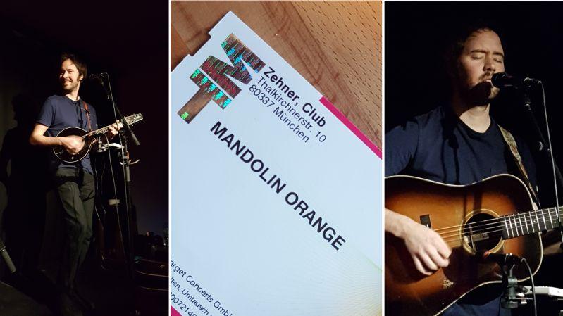 Mandolin Orange live in Munich 2018