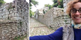 erice trapani Muros ciclopicos VIII aC guia brasileira - Trapani, o sal e o vinho.